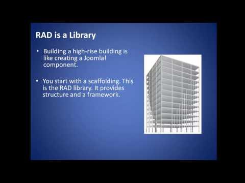 Joomla 3.2 - Rapid Application Development (RAD) Framework