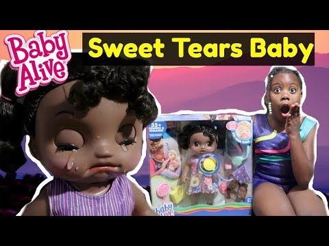 BABY ALIVE | SWEET TEARS BABY | AFRICAN AMERICAN
