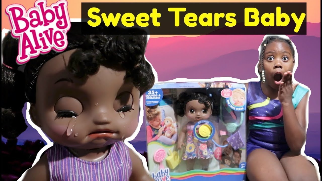 Baby Alive Sweet Tears Baby African American Youtube