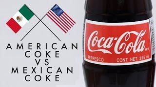 Repeat youtube video Mexican Coke Vs American Coke Taste Test