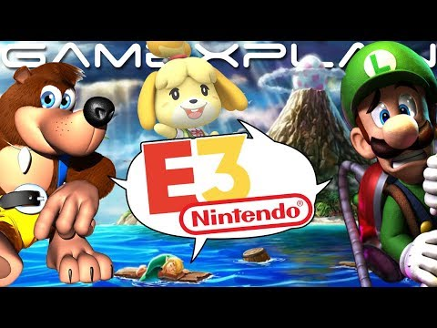 E3 2019 Predictions! Animal Crossing, Smash DLC, Luigi's Mansion 3, Banjo-Kazooie on Switch, & More!