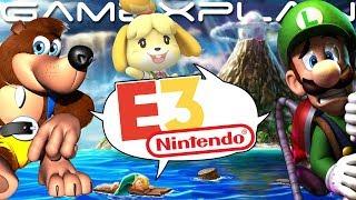 E3 2019 Predictions! Animal Crossing, Smash DLC, Luigi's Mansion 3, Banjo-Kazooie on Switch, & More!