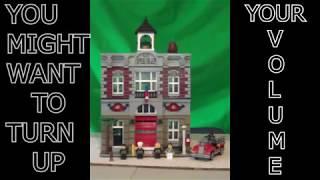 LEPIN Fire Brigade 15004 modular building Review!