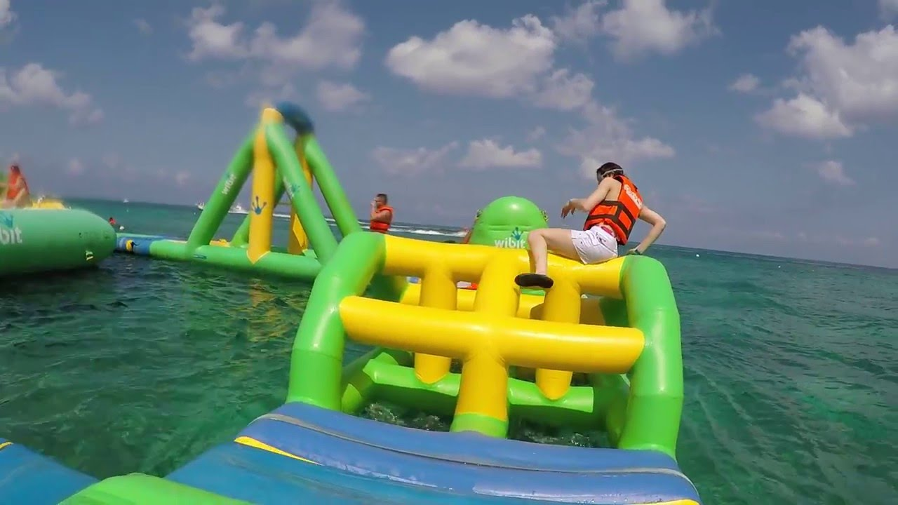 Playa Mia Floating Waterpark Excursion Cozumel Mexico Parque De Agua You