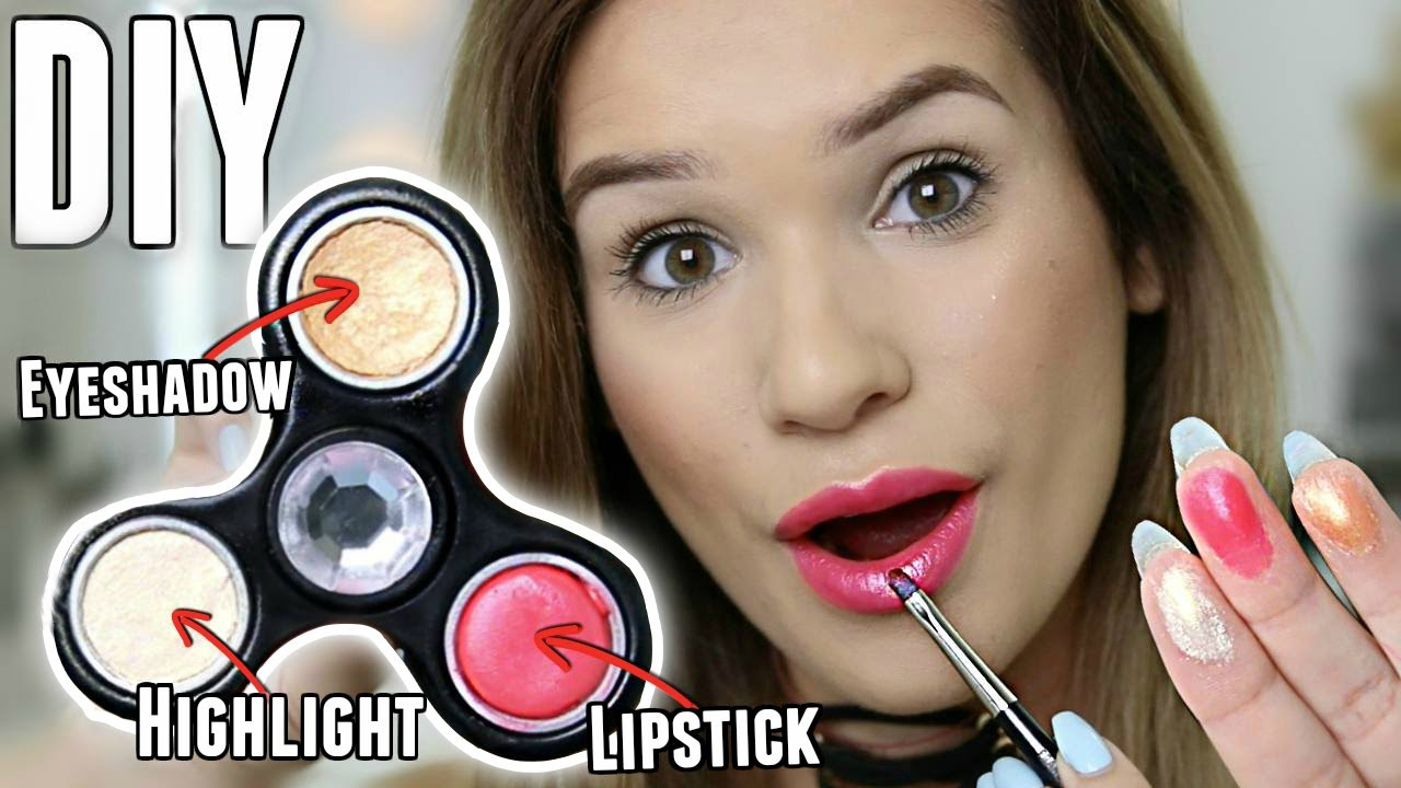 Image result for fidget spinner makeup kit
