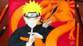 Speed Drawing - Naruto & Kurama (Naruto Shippuden) [HD]