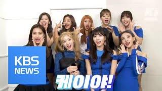 """트와이스도 볼(?) 이것! """"케이야~"""" / KBS뉴스(News)"""