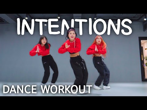 Dance Workout Justin Bieber   Intentions Ft. Quavo   Mylee Cardio Dance Workout, Dance Fitness