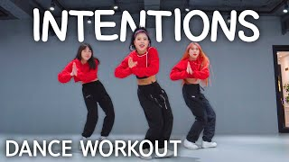Download lagu [Dance Workout] Justin Bieber - Intentions ft. Quavo | MYLEE Cardio Dance Workout, Dance Fitness