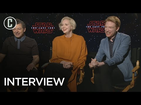 Andy Serkis, Gwendoline Christie & Domhnall Gleeson Share Their Favorite Snoke and Phasma Theories