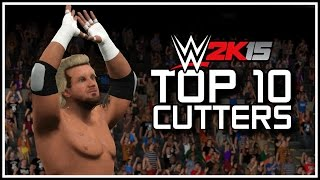 WWE 2K15 - Top 10 Cutters! (WWE 2K15 Countdown)