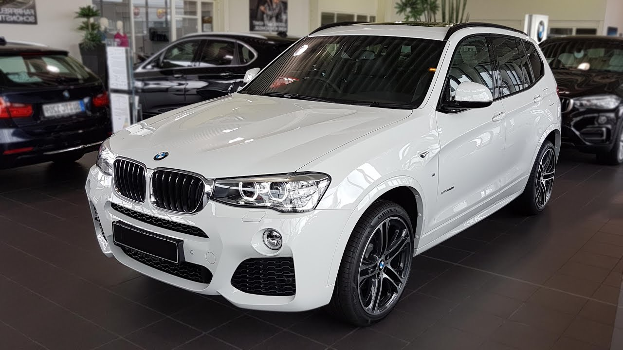 2017 Bmw X3 Xdrive20d Modell M Sport Bmwview Youtube