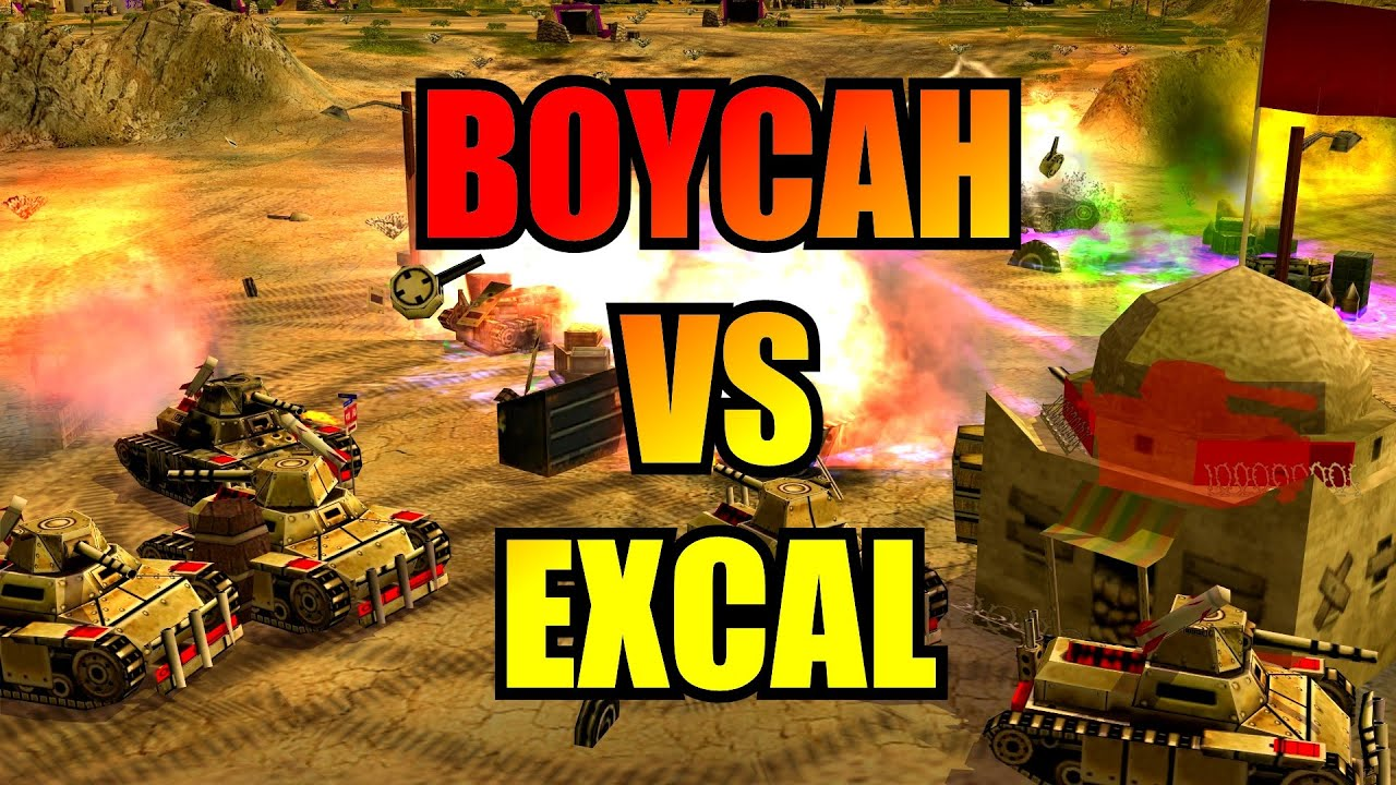 Co-Cast with RaGe - BoYcaH vs ExCaL - 1v1 Pro by LuciferArise - Generals Zero Hour
