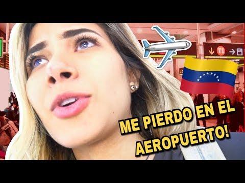 Así es viajar ahorita a VENEZUELA! Me regreso a Venezuela *shock*