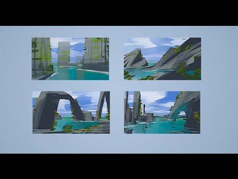 Imaginary Landscape Thumbnails (CtrlPaint.com)