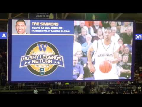 2013 UW Alumni Basketball Tournament Introduction (History and current status) videos