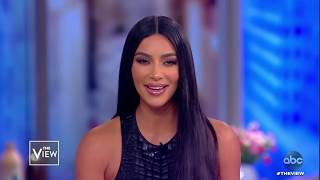 Kim Kardashian West on Kanye Sunday Service, Health, Grief | The View