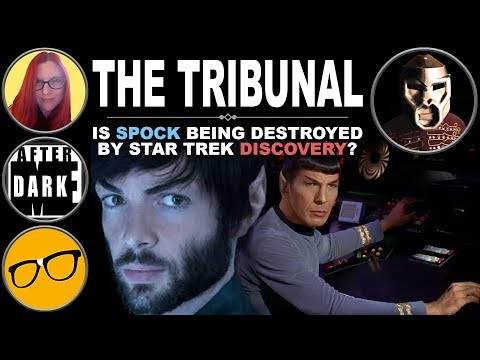 HAIL THE TRIBUNAL! Is Spock Being Destroyed By STD?
