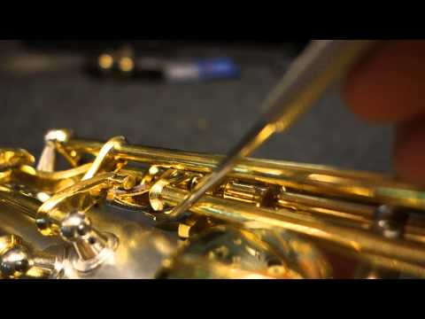 Saxophone Repair Topic: Old-Style Conn Saxophone Octave Mechanism