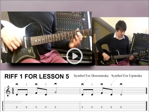 absolute beginners guitar lesson 5 how to play guitar riffs youtube. Black Bedroom Furniture Sets. Home Design Ideas