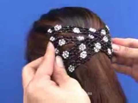 barbari stretch hair b demonstration youtube