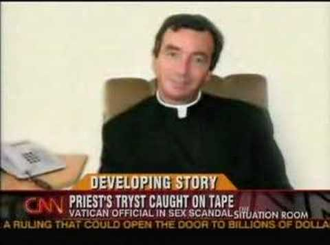 Gay Vatican Priest Caught