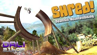 Shred! Downhill Mountain Biking PC UltraHD 4K Gameplay 60fps 2160p