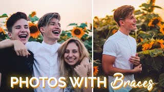 How to take Good Pictures with Braces | Photogenic Braces