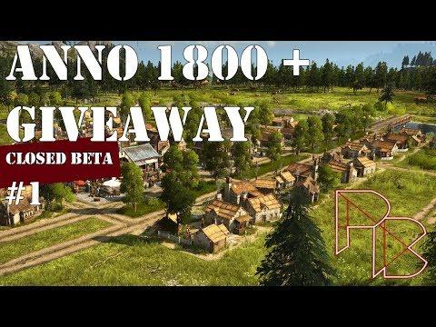 Anno 1800 Closed Beta Gameplay - Code Giveaway (CLOSED) - 1#  