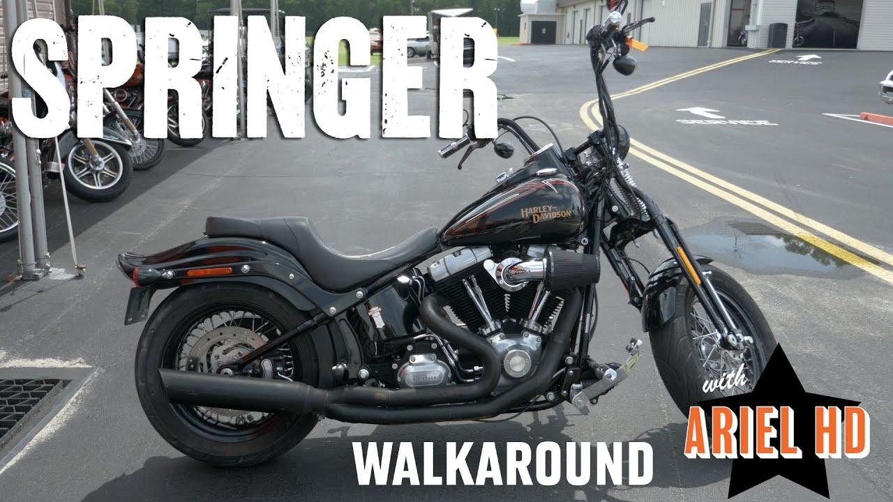Used Motorcycle For Sale in Florida - Harley-Davidson 2008 Springer CrossBones