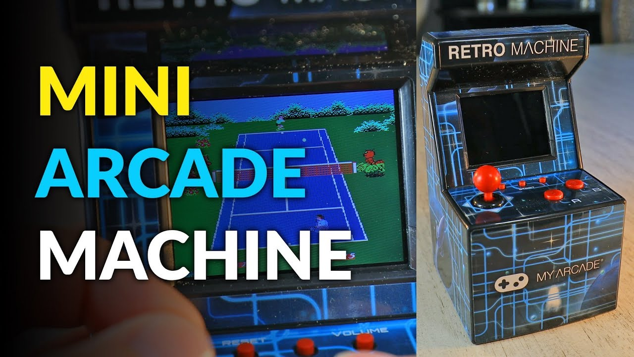 4d43a0674ed25 Mini Arcade Comes With 200 Pre-installed Retro Games - YouTube