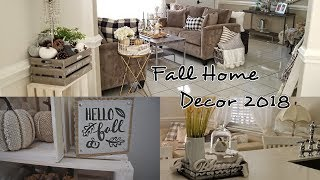 Fall Home Decor House Tour 2018  ��