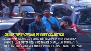 3 Driver Ojol Tumbang Lawan Gerombolan Tukang Tagih Utang di Surabaya
