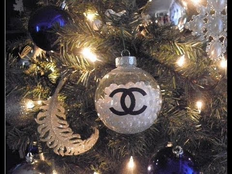 Diy Chanel Pearls Christmas Ornament Have A Very Couture