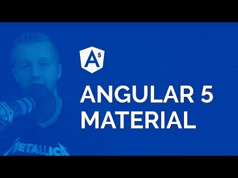 How to Build an Angular 5 Material App