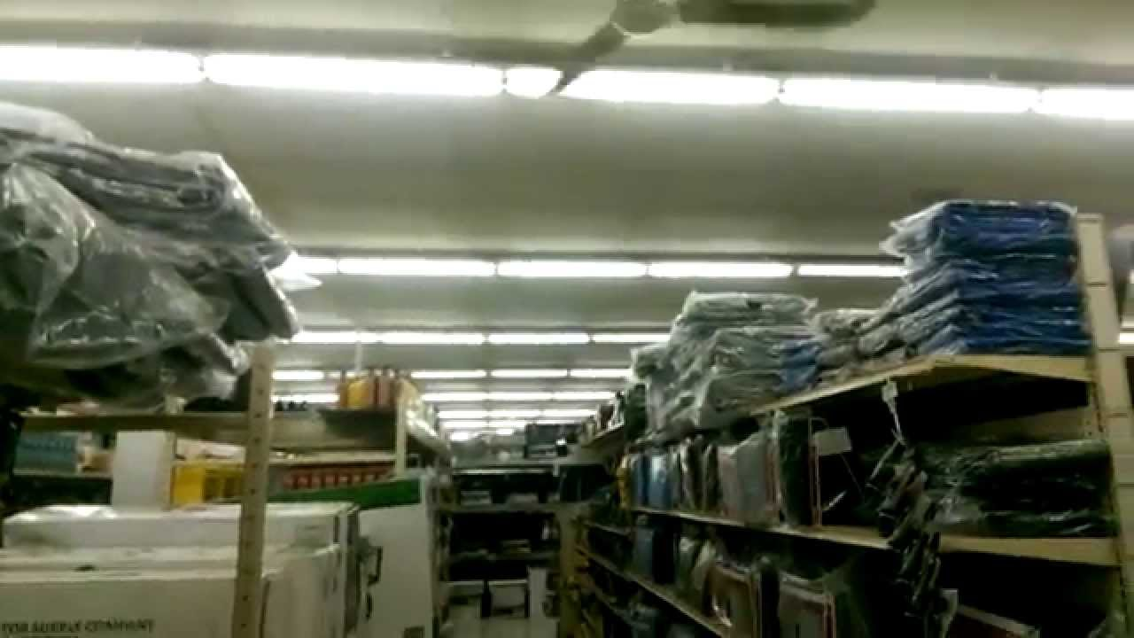 Canarm industrial ceiling fans in tractor supply company for Industrial distribution group