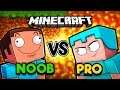 Minecraft Animation - NOOB VS PRO! (Minecraft Cartoon)