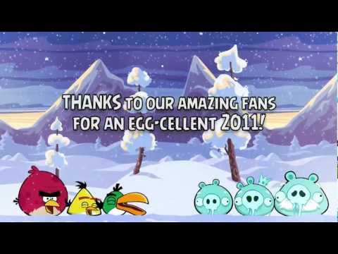 Happy New Year 2012 from the Angry Birds!