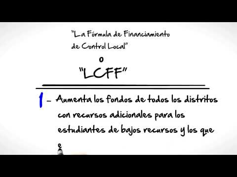 LCFF for  Multicultural Learning Center