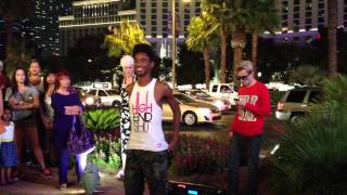 Turf (Alonzo Jones) and White Chocolate Dancing in Las Vegas AMAZING