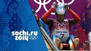 Men's Luge - Runs 1 and 2  | Sochi 2014 Winter Olympics