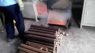 видео Пресс для топливных брикетов своими руками бесплатное отопление
