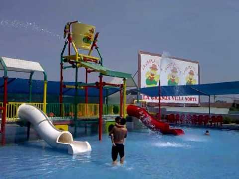La granja villa norte piscina para ni os youtube for Piscinas de plastico para ninos