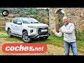 Mitsubishi L200 Pickup   Prueba / Test / Review En Español   Coches.net