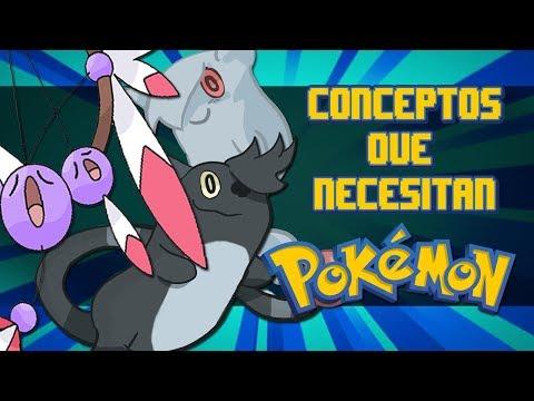 Top CONCEPTOS que NECESITAN un Pokémon! c/Sir Gary