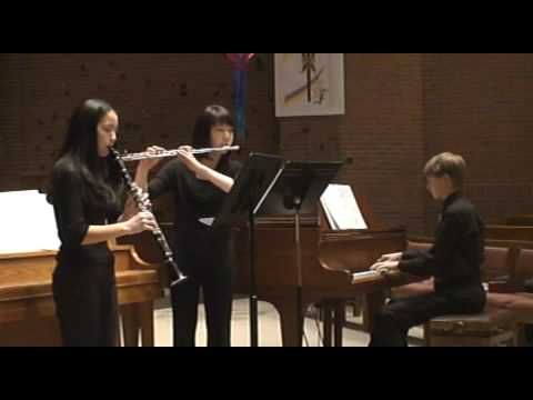Ernest Bloch Concertino for Flute and Clarinet