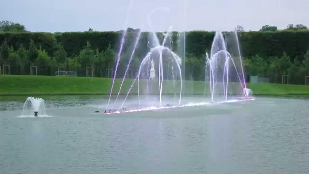Bassin du miroir ch teau de versailles youtube for Bassin miroir