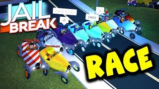 MASSIVE NEW CLASSIC CAR ONLY RACE IN JAILBREAK