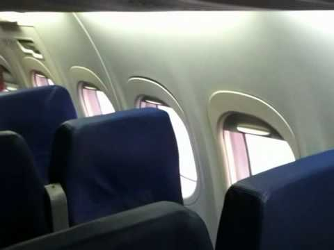 Boarding the AirTran Airways Boeing 717-200
