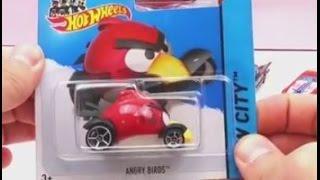 Hot Wheels Cars 2 Angry Birds und The Flintstones Review deutsch